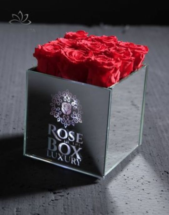 Love mini örök rózsa box