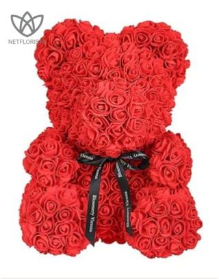 Flowerbear Vibrant Red Large