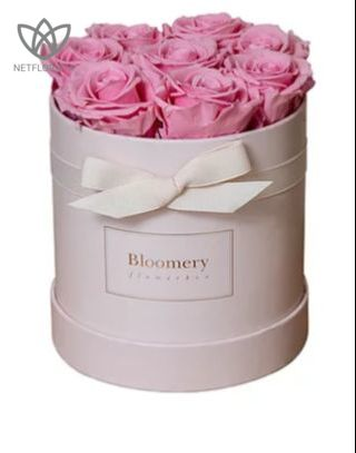 BRIDAL PINK Flowerbox Medium