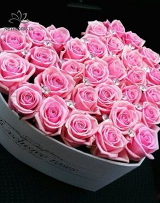 Exclusive Roses Szív Box
