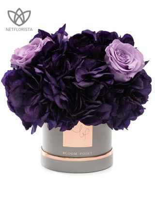 FLOWERBOX PURPLE S