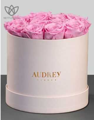 Audrey flowers - grosso rose