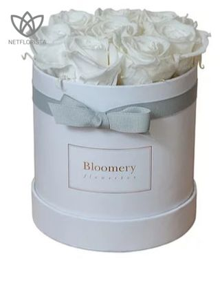 PURE WHITE Flowerbox Medium